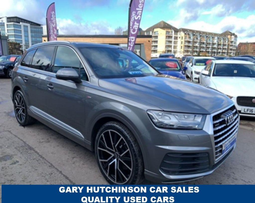 2016 Audi Q7 3.0 TDI QUATTRO S LINE Diesel Automatic  – Gary Hutchinson Car Sales Belfast