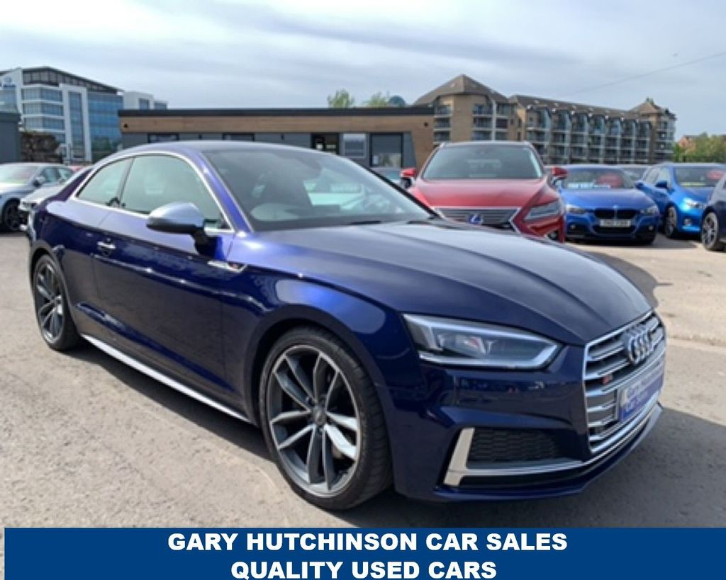 2016 Audi S5 A5  3.0TFSI QUATTRO Petrol Automatic  – Gary Hutchinson Car Sales Belfast