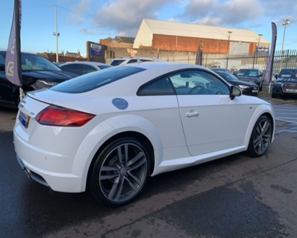 2016 Audi TT 2.0 TDI ULTRA S LINE Diesel Manual  – Gary Hutchinson Car Sales Belfast full