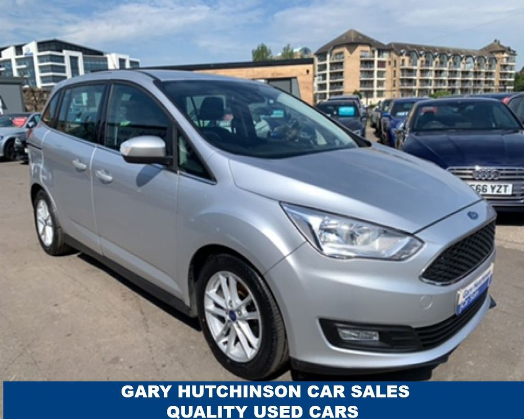 2016 Ford Grand C-MAX 1.5 ZETEC TDCI Diesel Manual  – Gary Hutchinson Car Sales Belfast