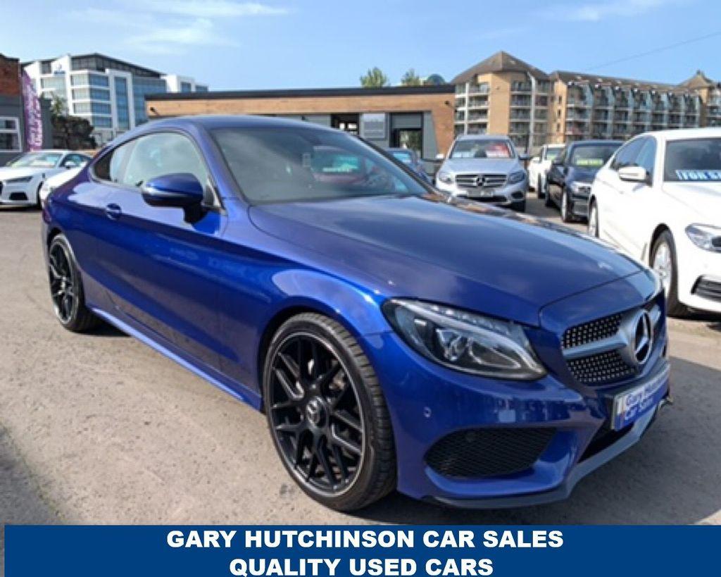 2016 Mercedes-Benz C Class C-CLASS C 220 D AMG LINE Diesel Automatic  – Gary Hutchinson Car Sales Belfast