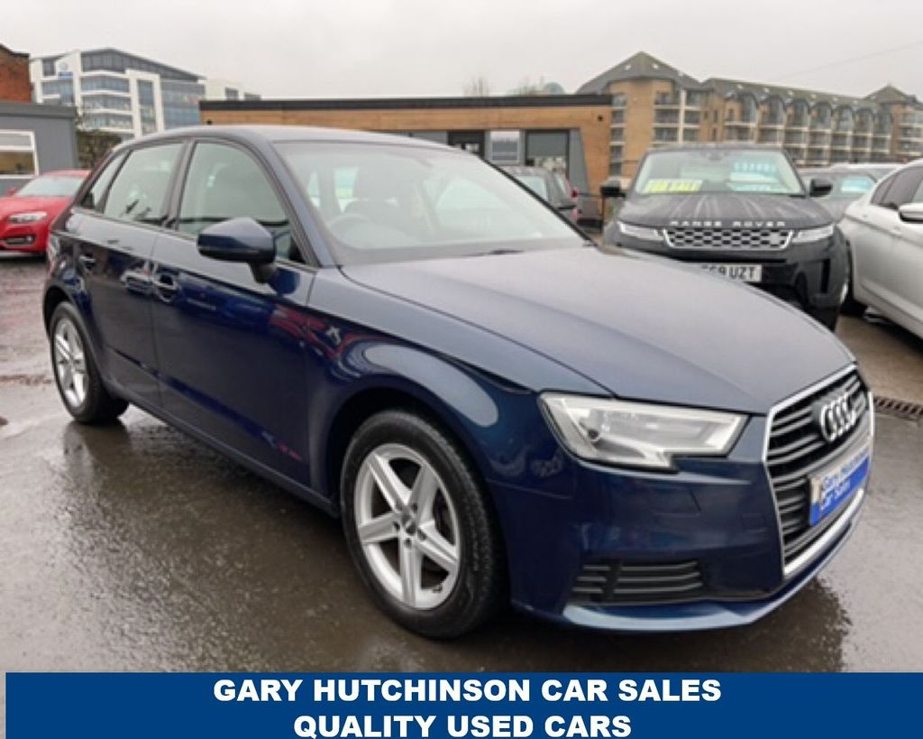 2017 Audi A3 1.6 TDI SE Diesel Manual  – Gary Hutchinson Car Sales Belfast