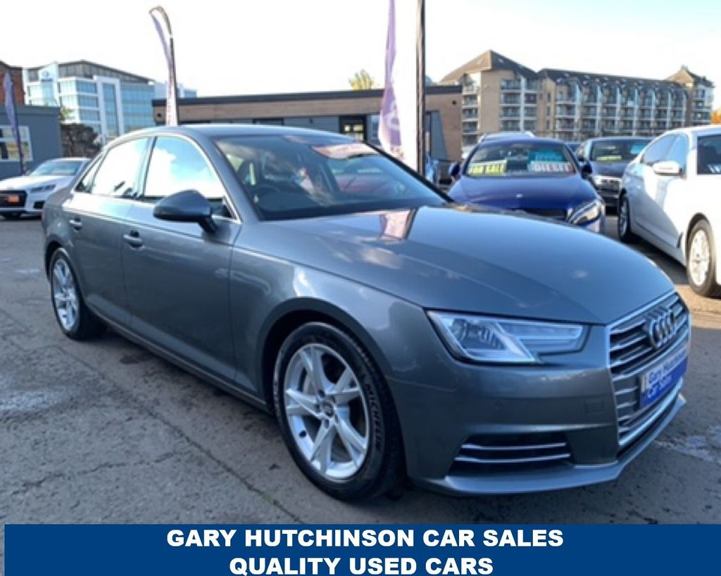 2017 Audi A4 2.0 TDI ULTRA SPORT Diesel Automatic  – Gary Hutchinson Car Sales Belfast