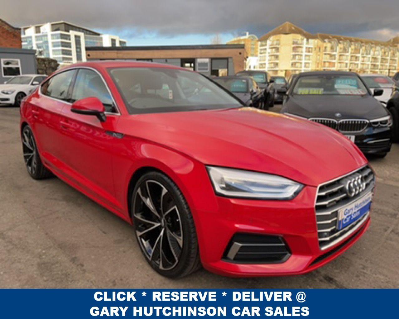 2017 Audi A5 3.0 TDI QUATTRO  SPORTBACK SPORT Diesel Semi Auto  – Gary Hutchinson Car Sales Belfast