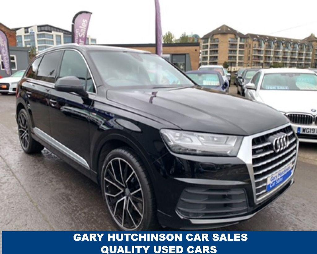 2017 Audi Q7 3.0 TDI QUATTRO S LINE Diesel Automatic  – Gary Hutchinson Car Sales Belfast