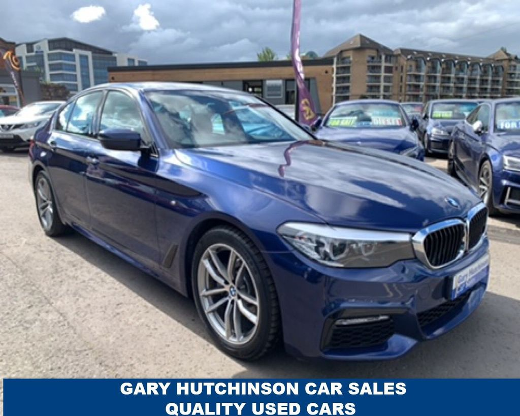 2017 BMW 5 Series 2.0 520D XDRIVE M SPORT Diesel Automatic  – Gary Hutchinson Car Sales Belfast