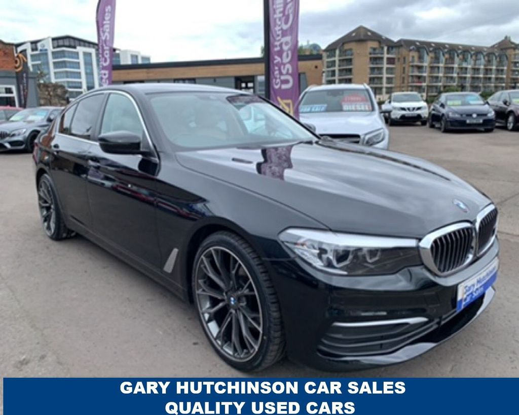 2017 BMW 5 Series 2.0 520D SE Diesel Automatic  – Gary Hutchinson Car Sales Belfast