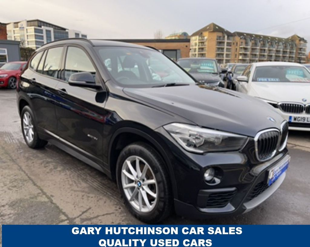 2017 BMW X1 SDRIVE Diesel Manual  – Gary Hutchinson Car Sales Belfast