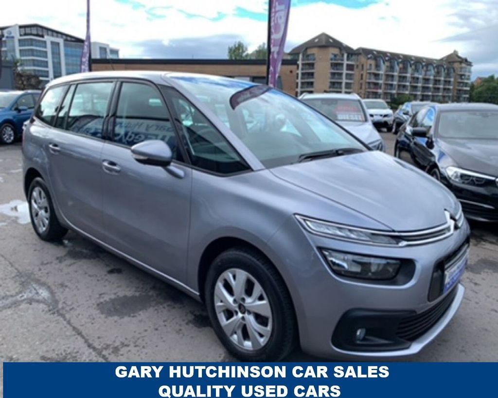 2017 Citroen C4 Grand Picasso 1.6 BLUEHDI TOUCH EDITION S/S Diesel Manual  – Gary Hutchinson Car Sales Belfast