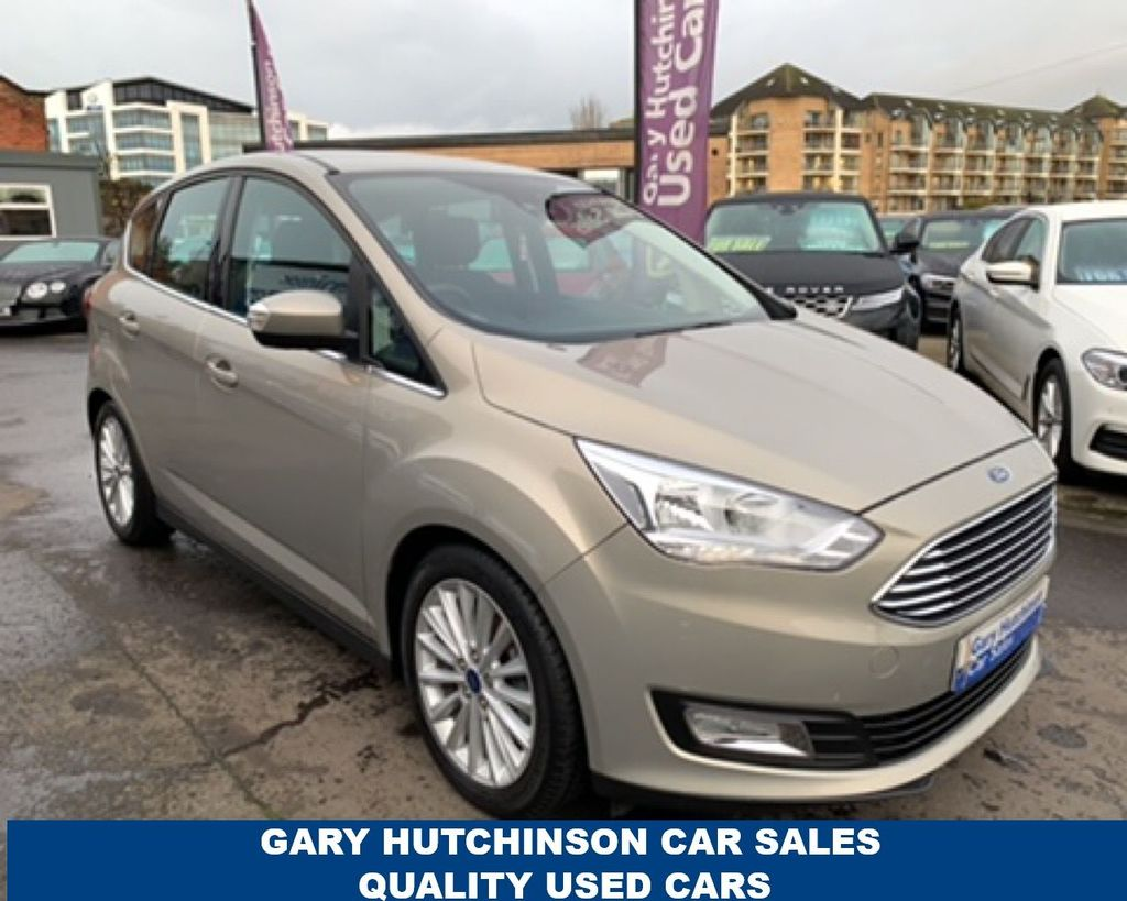 2017 Ford C-Max 1.5 TDCI TITANIUM Diesel Manual  – Gary Hutchinson Car Sales Belfast