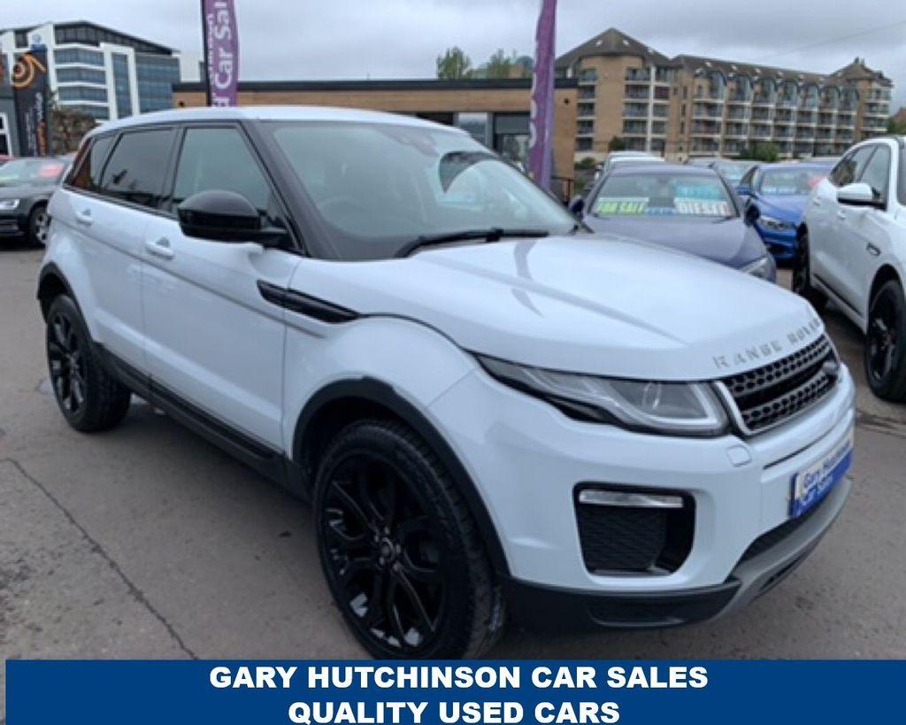 2017 Land Rover Range Rover Evoque 2.0 TD4 SE TECH Diesel Automatic  – Gary Hutchinson Car Sales Belfast