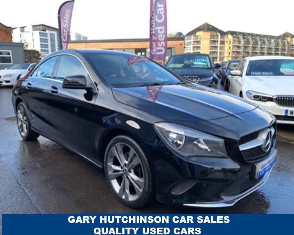 2017 Mercedes-Benz CLA 180 SPORT Petrol Semi Auto  – Gary Hutchinson Car Sales Belfast