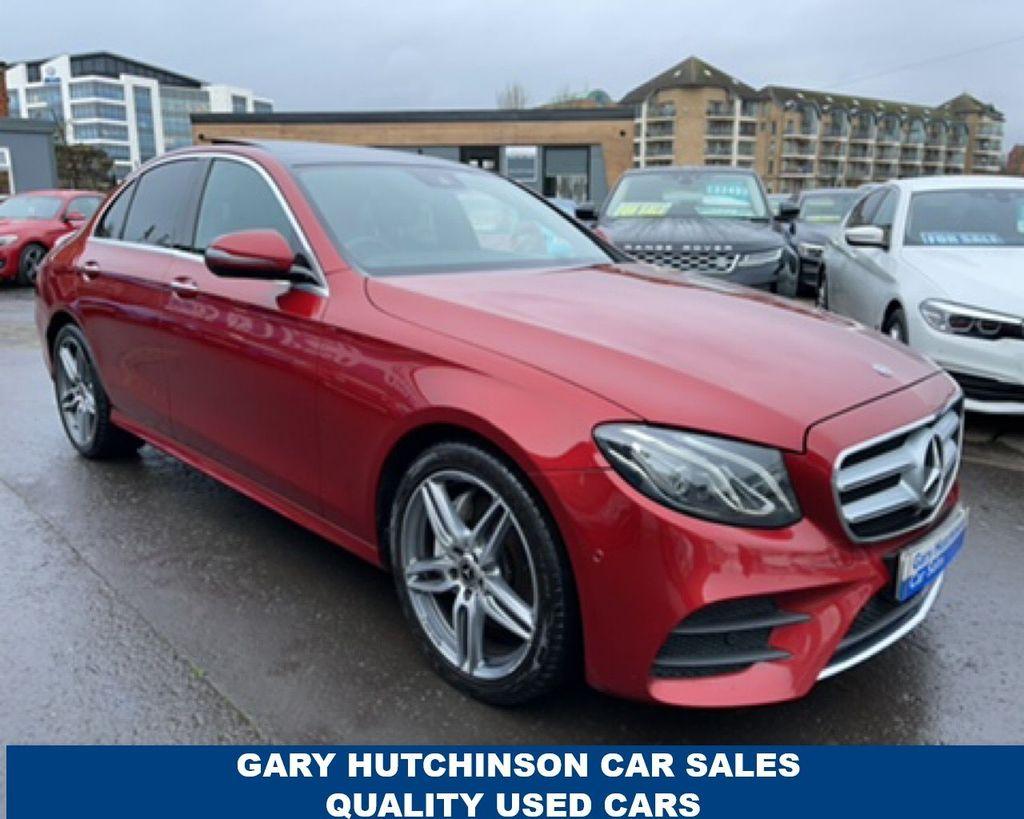 2017 Mercedes-Benz E Class E-CLASS E220 D AMG LINE PREMIUM Diesel Automatic  – Gary Hutchinson Car Sales Belfast