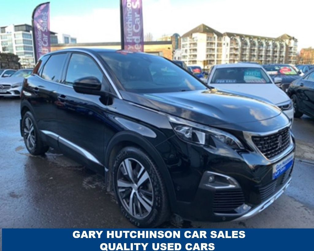 2017 Peugeot 3008 1.6 BLUEHDI S/S GT LINE Diesel Manual  – Gary Hutchinson Car Sales Belfast