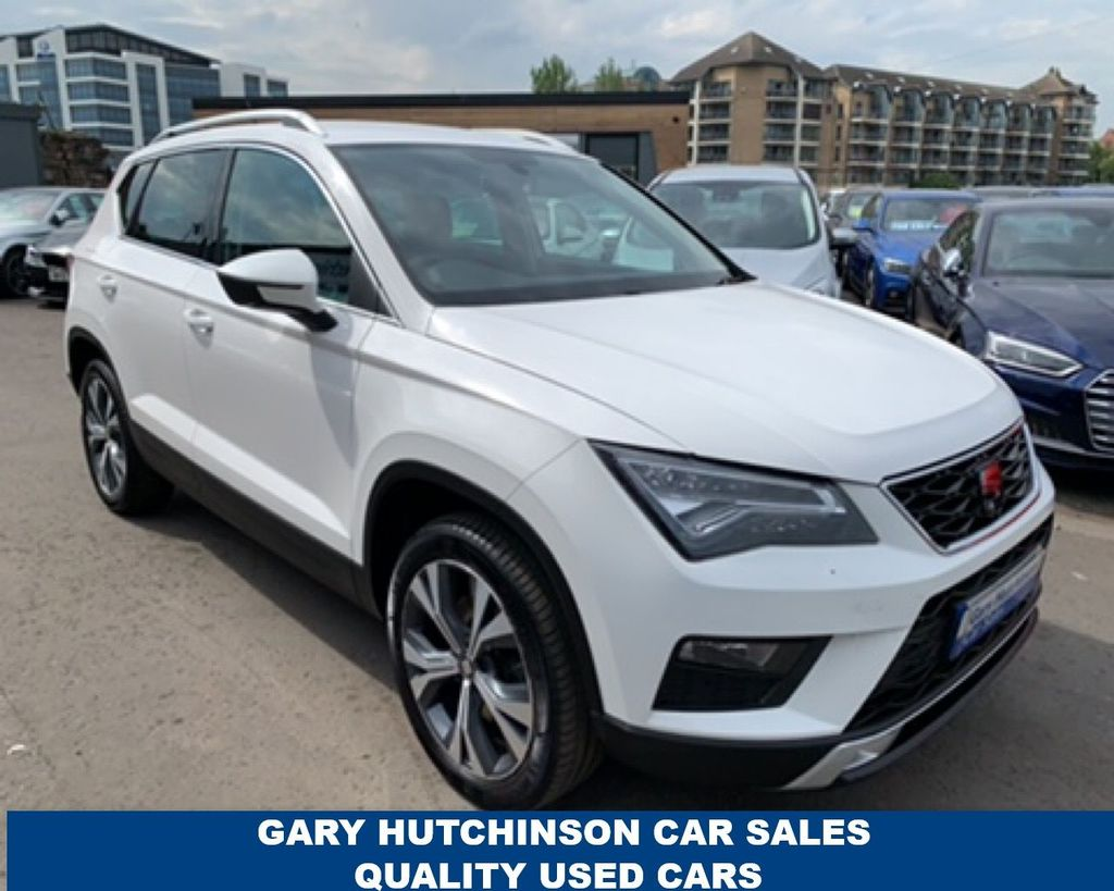 2017 SEAT Ateca 1.6 TDI ECOMOTIVE SE TECHNOLOGY Diesel Manual  – Gary Hutchinson Car Sales Belfast