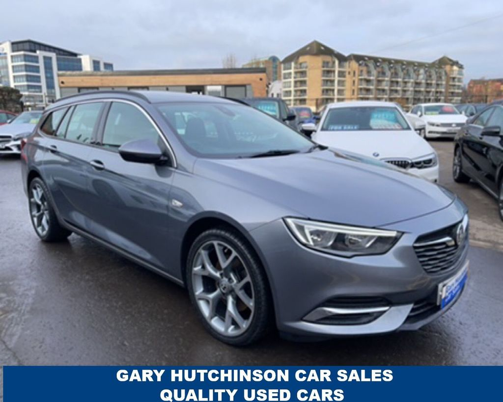 2017 Vauxhall Insignia 1.6 TURBO D SPORTS TOURER DESIGN NAV ECOTEC Diesel Manual  – Gary Hutchinson Car Sales Belfast full