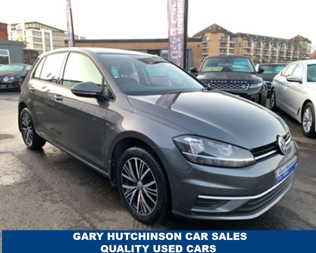 2017 Volkswagen Golf 1.6 SE TDI BLUEMOTION TECHNOLOGY Diesel Manual  – Gary Hutchinson Car Sales Belfast