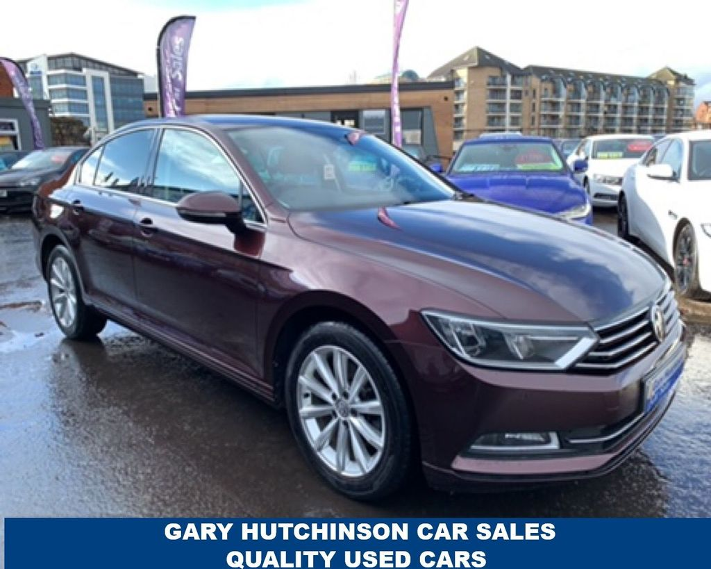 2017 Volkswagen Passat 2.0 TDI SE BUSINESS BLUEMOTION TECHNOLOGY Diesel Manual  – Gary Hutchinson Car Sales Belfast