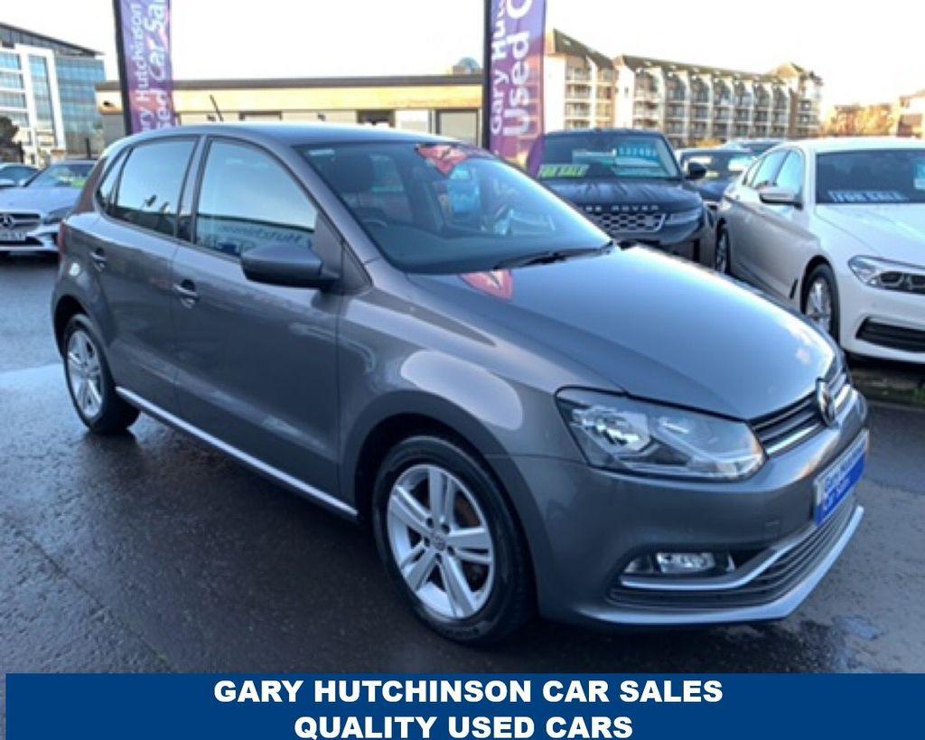 2017 Volkswagen Polo 1.4 MATCH EDITION TDI Diesel Manual  – Gary Hutchinson Car Sales Belfast