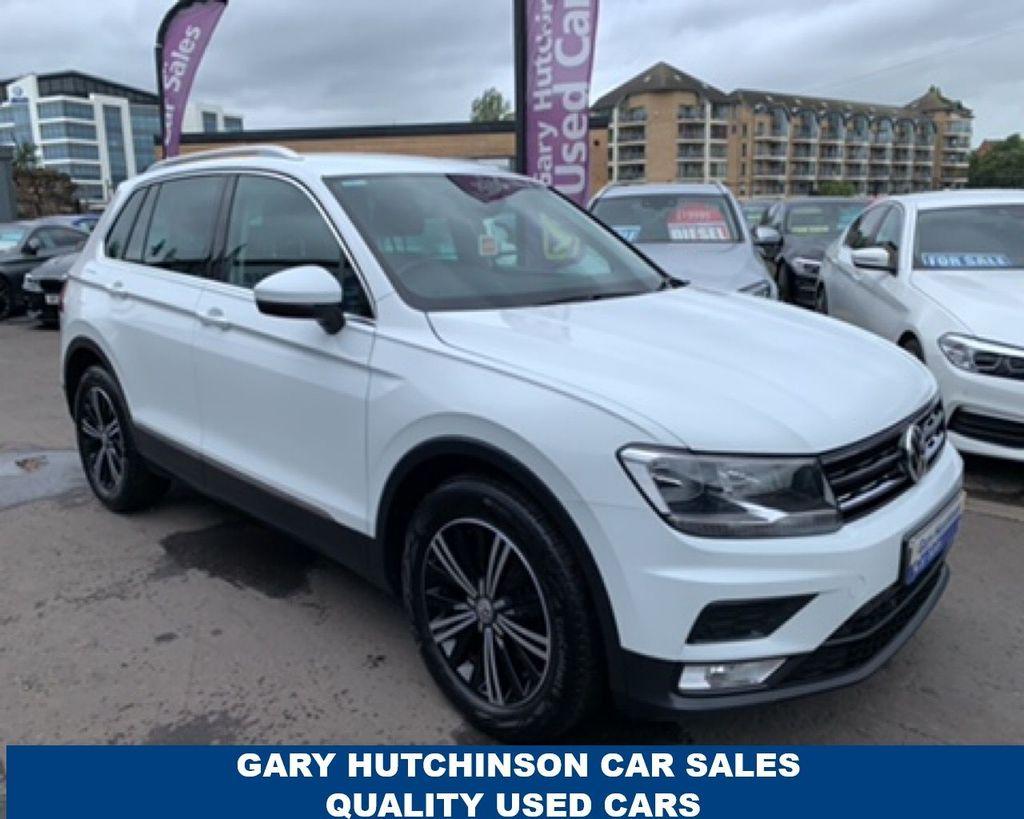 2017 Volkswagen Tiguan 2.0 TDI SE BMT Diesel Manual  – Gary Hutchinson Car Sales Belfast