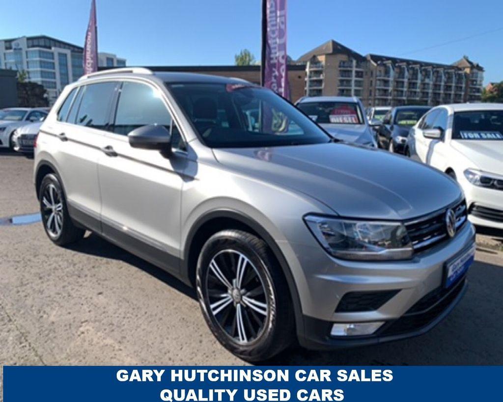 2017 Volkswagen Tiguan 2.0 TDI SE DSG Diesel Semi Auto  – Gary Hutchinson Car Sales Belfast