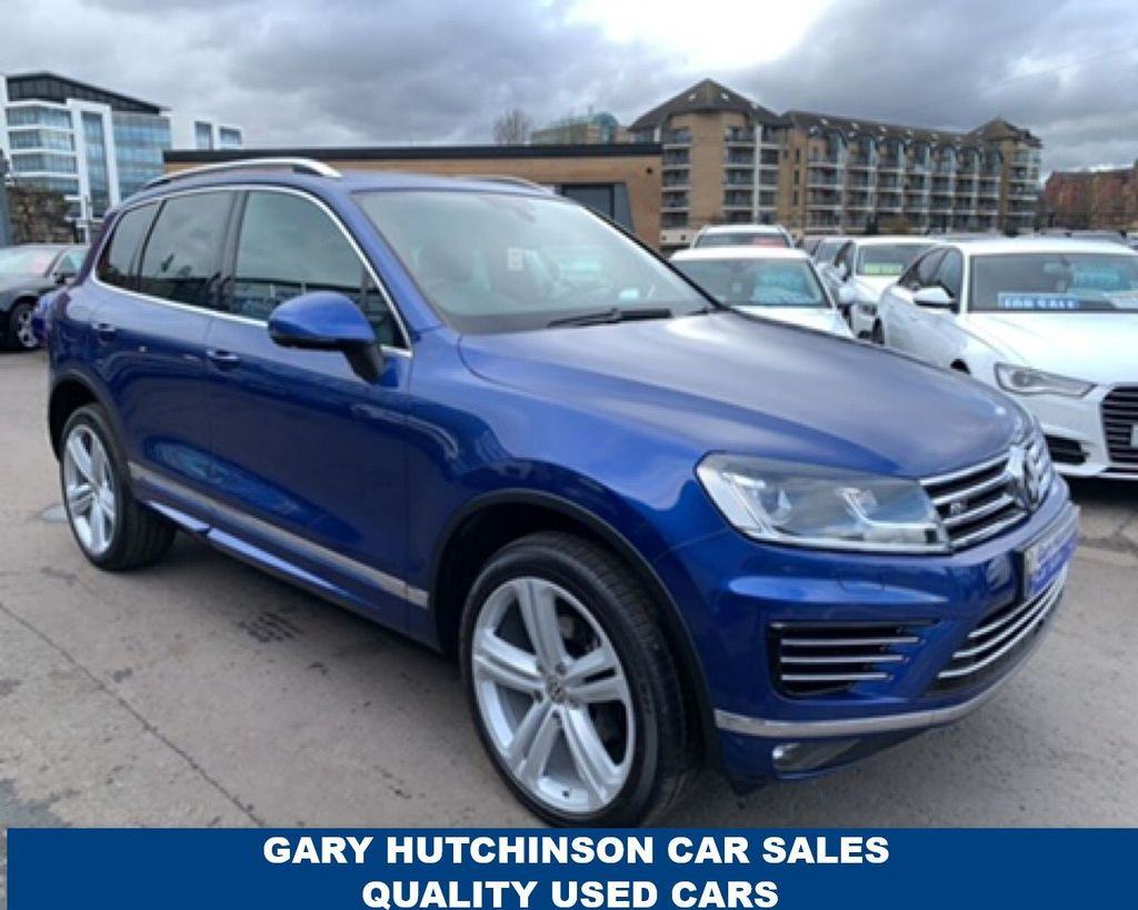 2017 Volkswagen Touareg 3.0TDI V6 R-LINE PLUS BLUEMOTION TECHNOLOGY Diesel Automatic  – Gary Hutchinson Car Sales Belfast