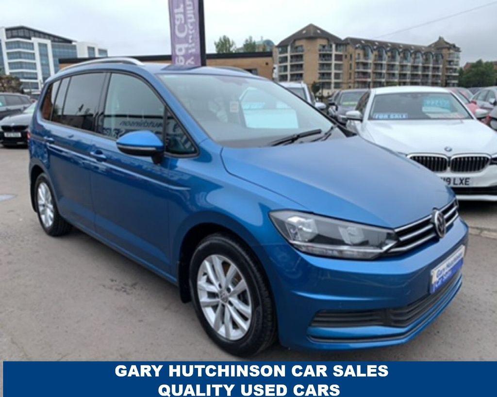 2017 Volkswagen Touran 1.6 SE TDI BLUEMOTION TECHNOLOGY DSG Diesel Semi Auto  – Gary Hutchinson Car Sales Belfast