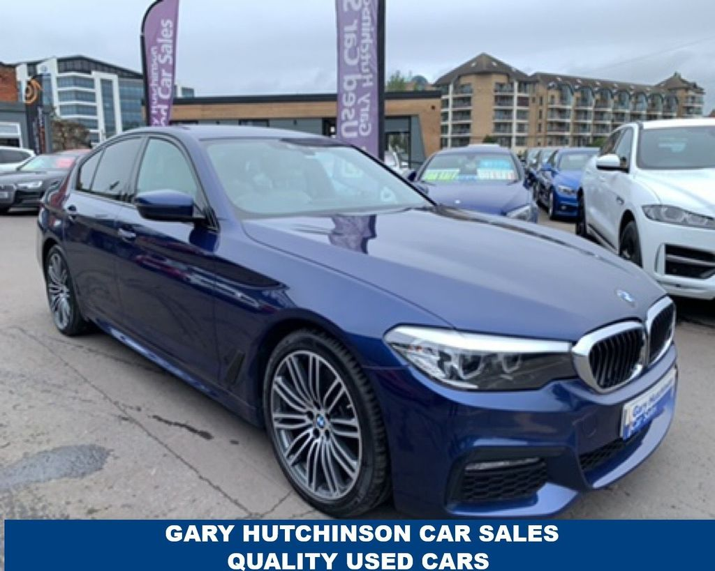 2018 BMW 5 Series 530D XDRIVE M SPORT Diesel Automatic  – Gary Hutchinson Car Sales Belfast full