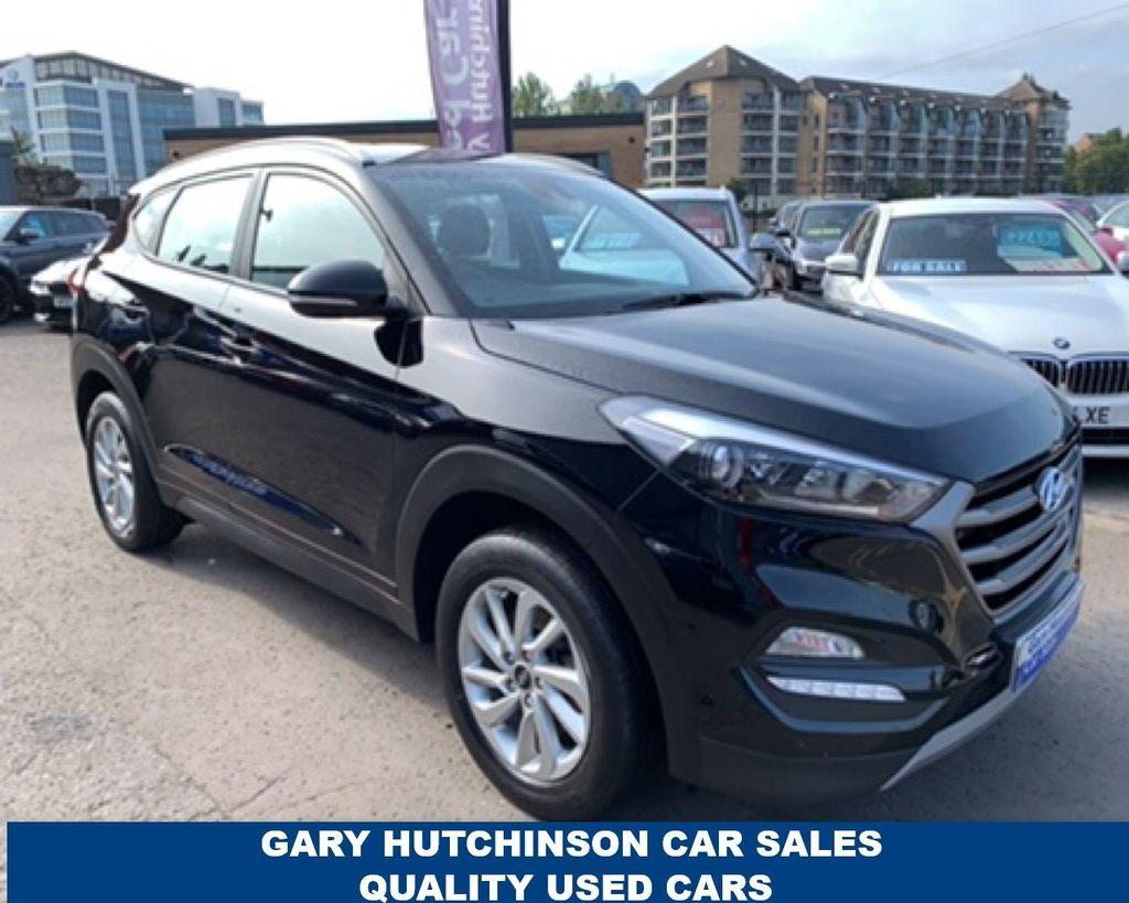 2018 Hyundai Tucson 1.6 GDI SE BLUE DRIVE Petrol Manual  – Gary Hutchinson Car Sales Belfast