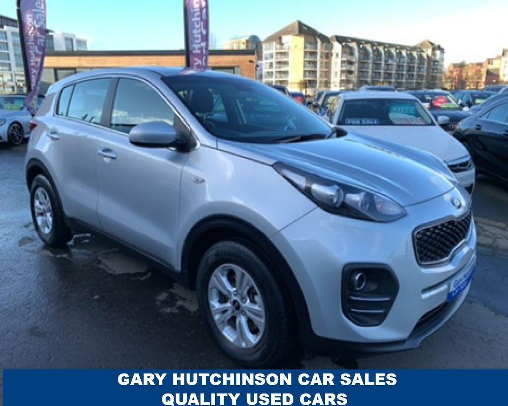 2018 Kia Sportage 1.7 CRDI 1 ISG Diesel Manual  – Gary Hutchinson Car Sales Belfast