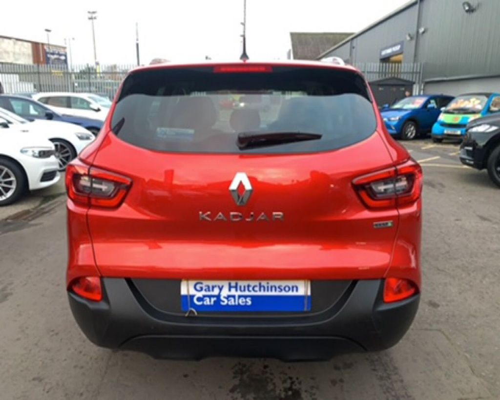 2018 Renault Kadjar 1.5 DCI  DYNAMIQUE NAV Diesel Manual  – Gary Hutchinson Car Sales Belfast full