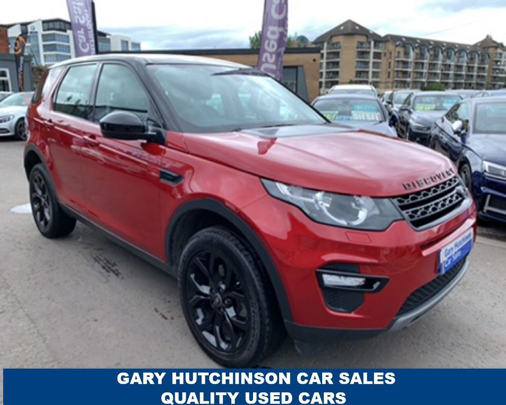 2019 Land Rover Discovery Sport 2.0 TD4 SE TECH 7 SEATER 4WD Diesel Manual  – Gary Hutchinson Car Sales Belfast
