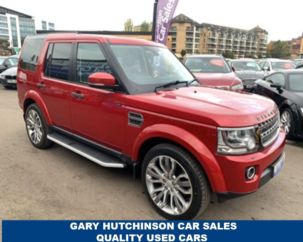 2015 Land Rover DISCOVERY 3 .0 SDV6 SE TECH Diesel Automatic  – Gary Hutchinson Car Sales Belfast