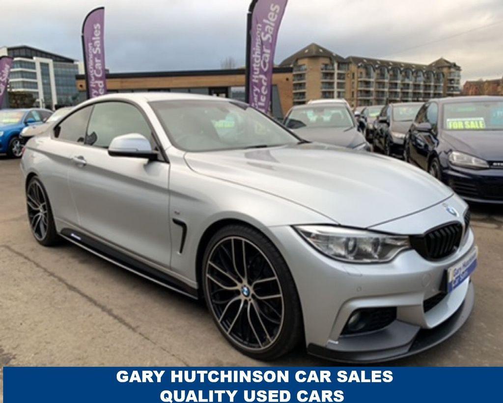 2014 BMW 4 Series 420I M SPORT Petrol Automatic  – Gary Hutchinson Car Sales Belfast