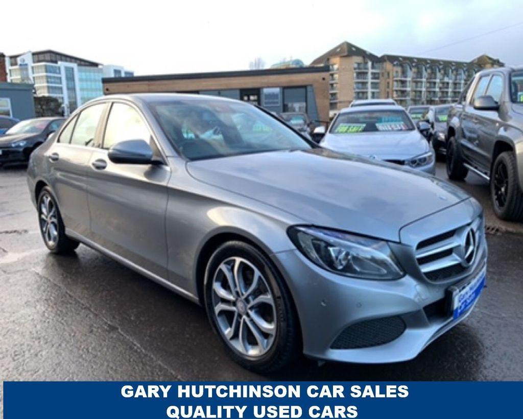 2015 Mercedes-Benz C Class C-CLASS 2.1 C220 D SPORT Diesel Manual  – Gary Hutchinson Car Sales Belfast