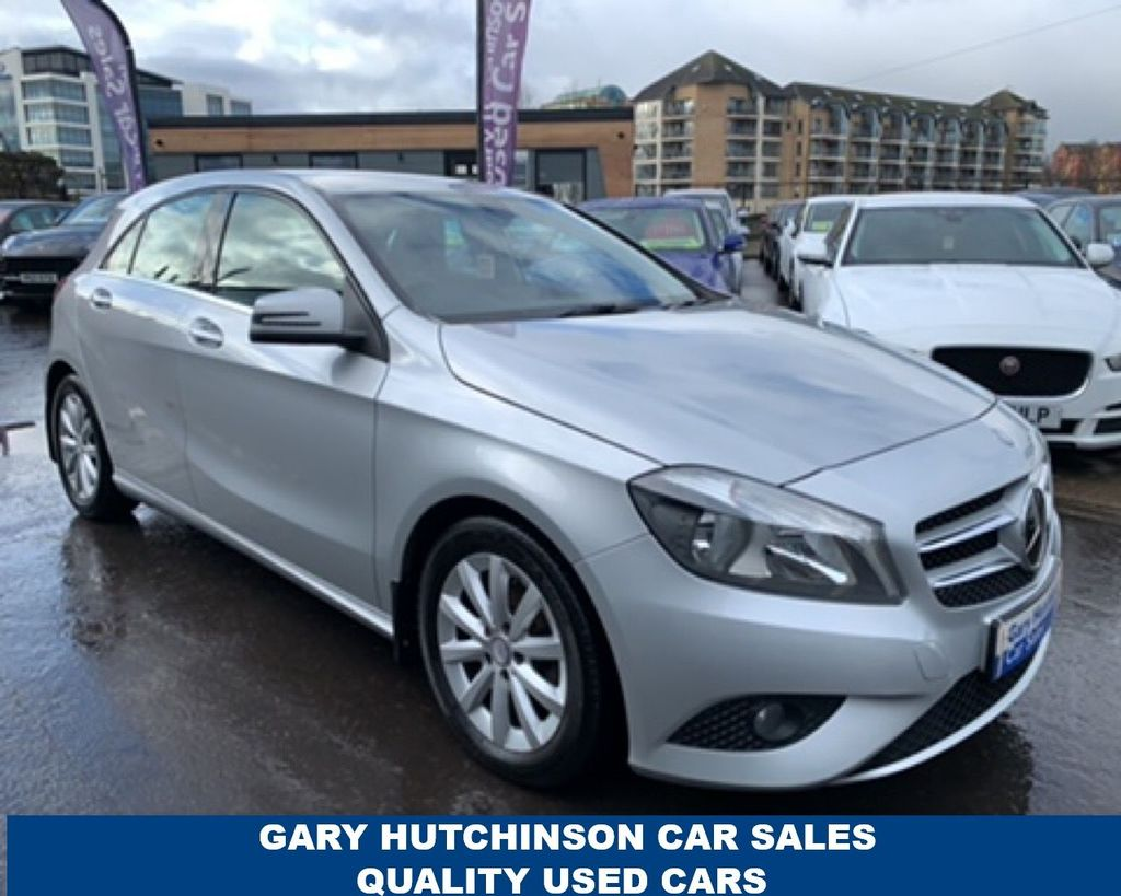 2014 Mercedes-Benz A Class j  A-CLASS 1.5 A180 CDI ECO SE Diesel Manual  – Gary Hutchinson Car Sales Belfast