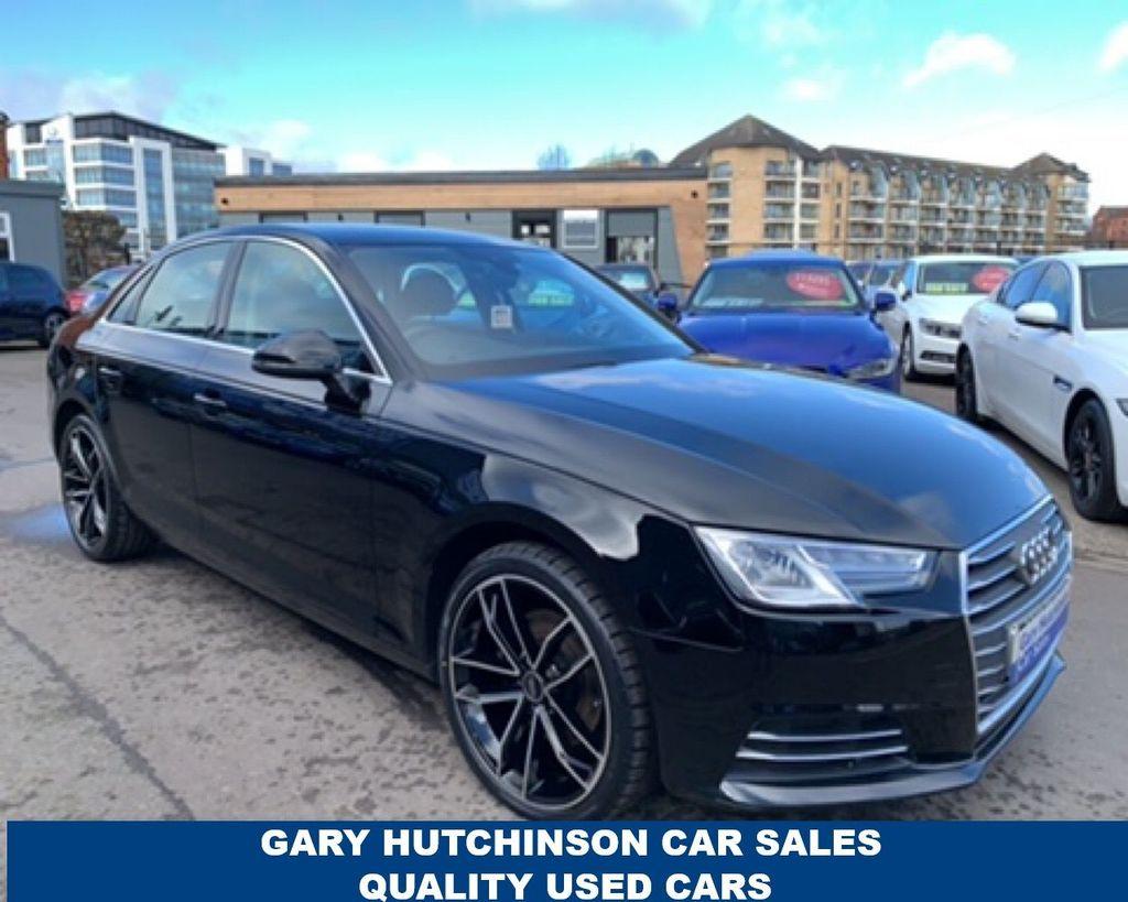 2016 Audi A4 TFSI SPORT Petrol Manual  – Gary Hutchinson Car Sales Belfast