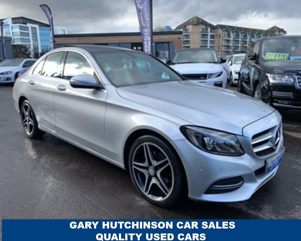 2015 Mercedes-Benz C Class C-CLASS C220 CDI BLUETEC SPORT PREMIUM Diesel Automatic  – Gary Hutchinson Car Sales Belfast
