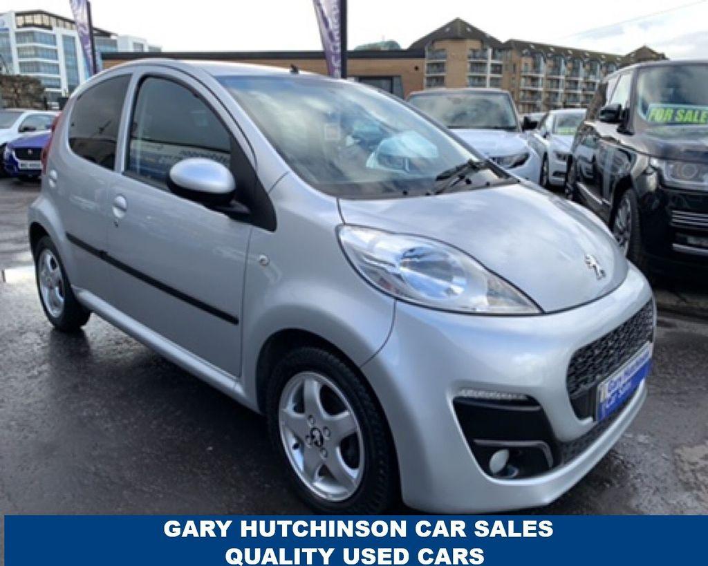 2014 Peugeot 107 ALLURE r MATIC Petrol Automatic  – Gary Hutchinson Car Sales Belfast