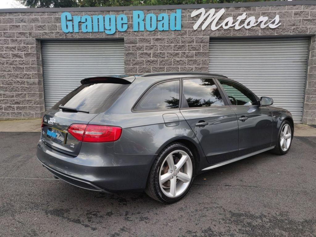 2012 Audi A4 2.0 AVANT TDI QUATTRO S LINE   *PAN ROOF* Diesel Manual  – Grange Road Motors Cookstown full