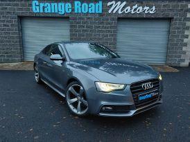 2012 Audi A5 1.8 TFSI BLACK EDITION Petrol Manual  – Grange Road Motors Cookstown