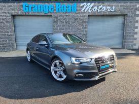 2014 Audi A5 2.0 SPORTBACK TDI QUATTRO S LINE Diesel Manual VRT €3606 NOX €2175 – Grange Road Motors Cookstown