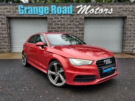 2014 Audi CL A3 2.0 TDI S LINE   *ALLOYS INUDED* Diesel Manual  – Grange Road Motors Cookstown