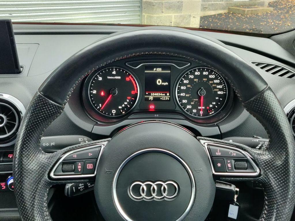 2014 Audi CL A3 2.0 TDI S LINE   *ALLOYS INUDED* Diesel Manual  – Grange Road Motors Cookstown full