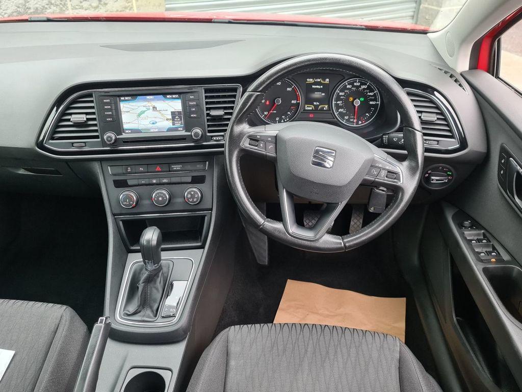 2014 SEAT Leon 1.6 TDI SE TECHNOLOGY DSG Diesel Semi Auto  – Grange Road Motors Cookstown full