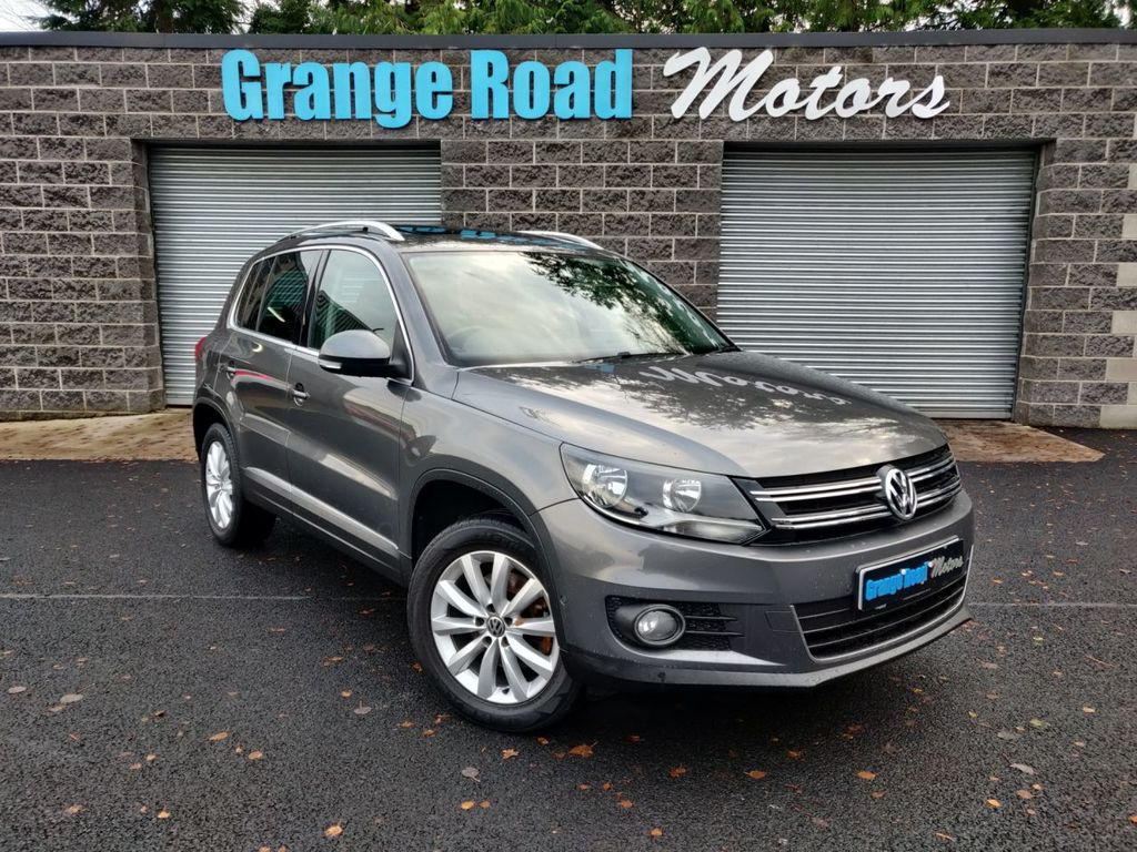 2014 Volkswagen Tiguan 2.0 MATCH TDI BLUEMOTION TECHNOLOGY 4MOTION Diesel Manual  – Grange Road Motors Cookstown full
