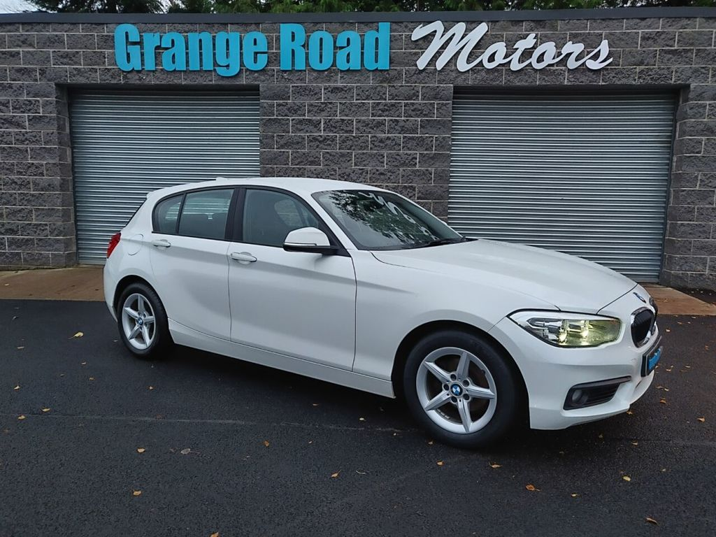 2016 BMW 1 Series 1.5 116D ED PLUS Diesel Manual  – Grange Road Motors Cookstown full
