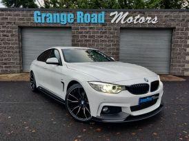 2016 BMW 4 Series 2.0 420D M SPORT GRAN COUPE   M-PERFORMANCE Diesel Automatic  – Grange Road Motors Cookstown