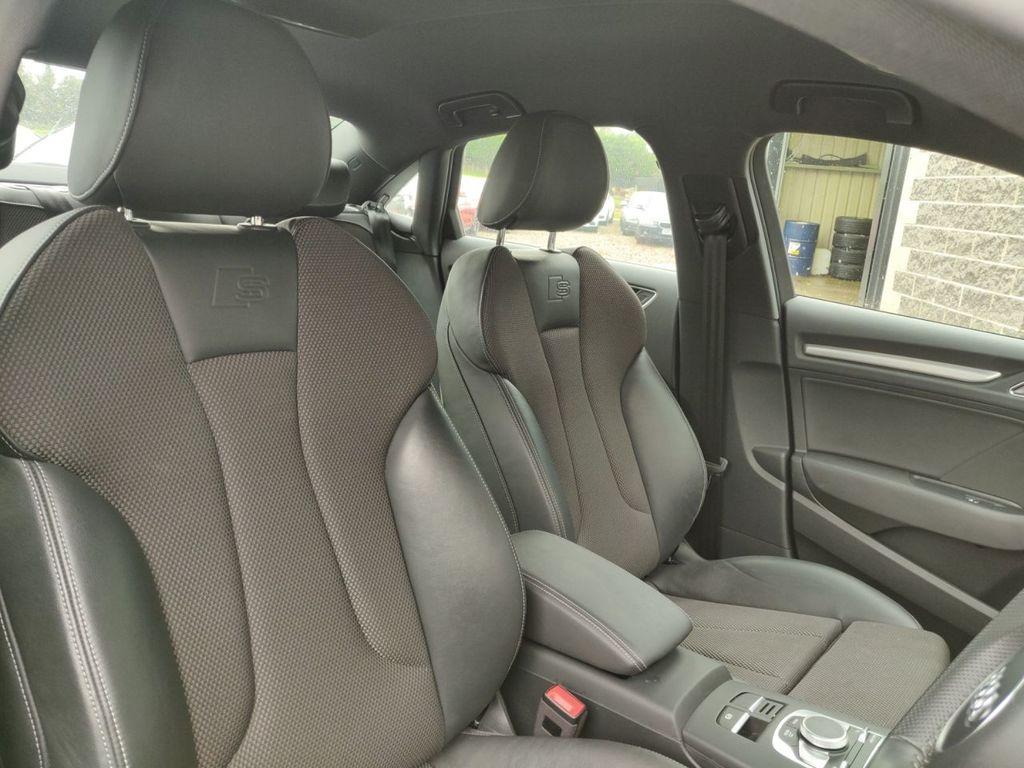 2017 Audi A3 2.0 TDI S LINE SALOON Diesel Semi Auto  – Grange Road Motors Cookstown full