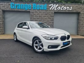 2017 BMW 1 Series 1.5 116D ED PLUS Diesel Manual VRT €2357 – Grange Road Motors Cookstown